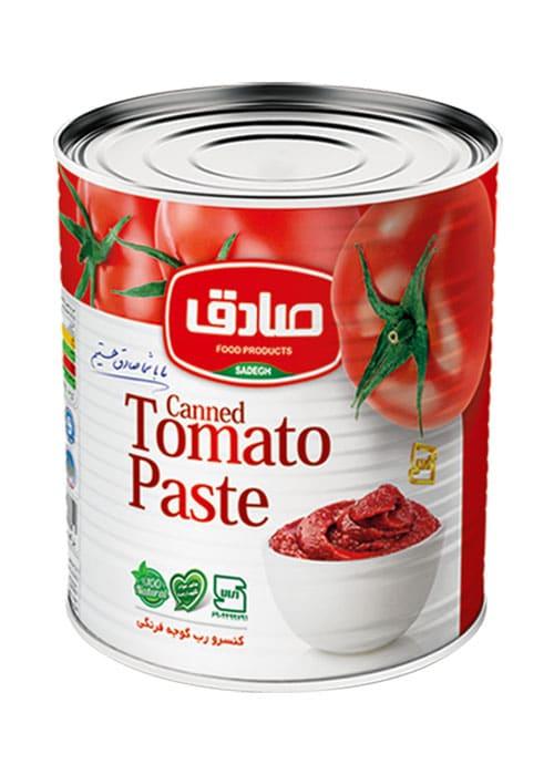 رب گوجه فرنگی ۸۰۰ گرمی صادق